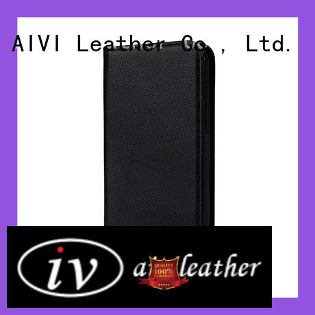 AIVI personalized leather iphone case online for iphone X