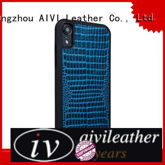 AIVI convenient iphone leather phone case apple for iphone X