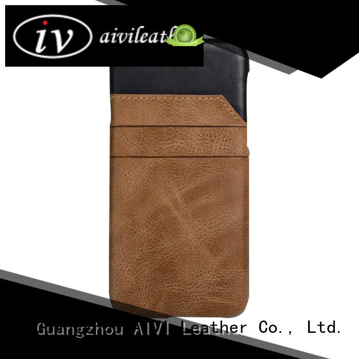 leather wallet phone case iphone 6 splicing iphone XS AIVI