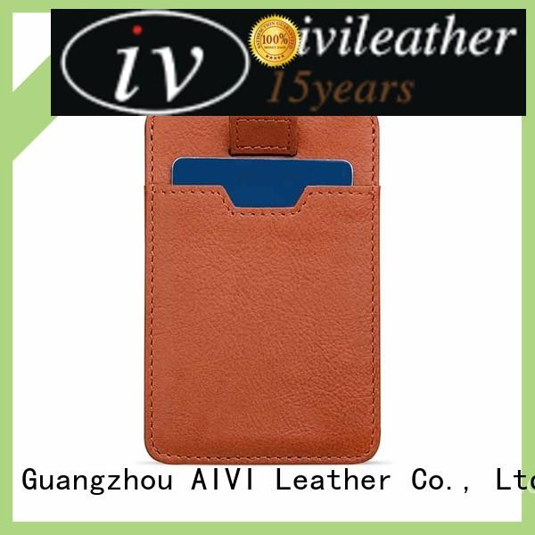 AIVI multifunction leather card wallet for sale for iphone 8 / 8plus
