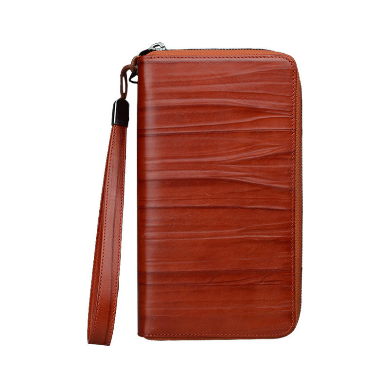 pocket leather credit card case factory for iphone XS AIVI-3