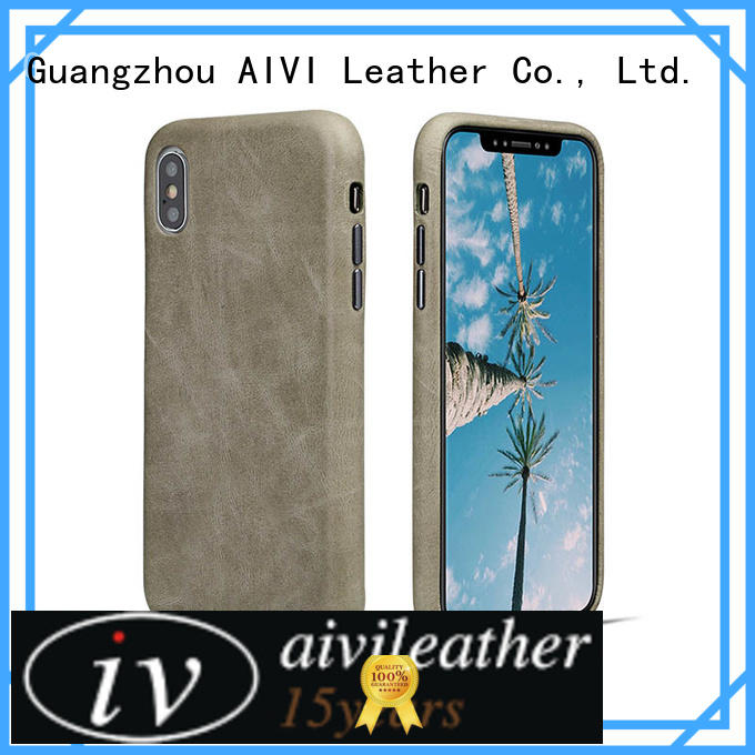 personalized slim leather iphone case online for iphone 8 / 8plus