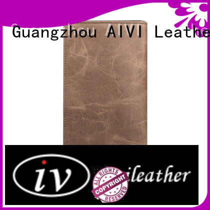 AIVI vintage leather card holder wallet factory for iphone X