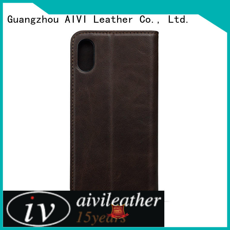 AIVI leather mobile phone covers protector for iphone 7/7 plus