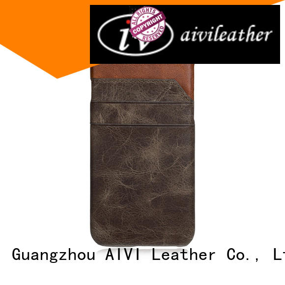 AIVI hybrid custom leather iphone 6 case supply phone XS Max
