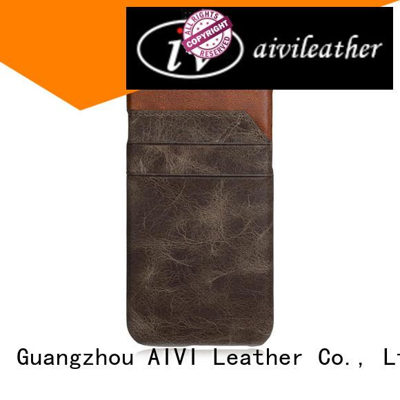 AIVI hybrid custom leather iphone 6 case supply phone XS Max