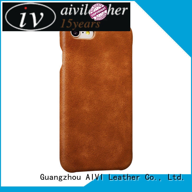 real best iphone 8 plus leather cases premium iphone 7/7 plus AIVI