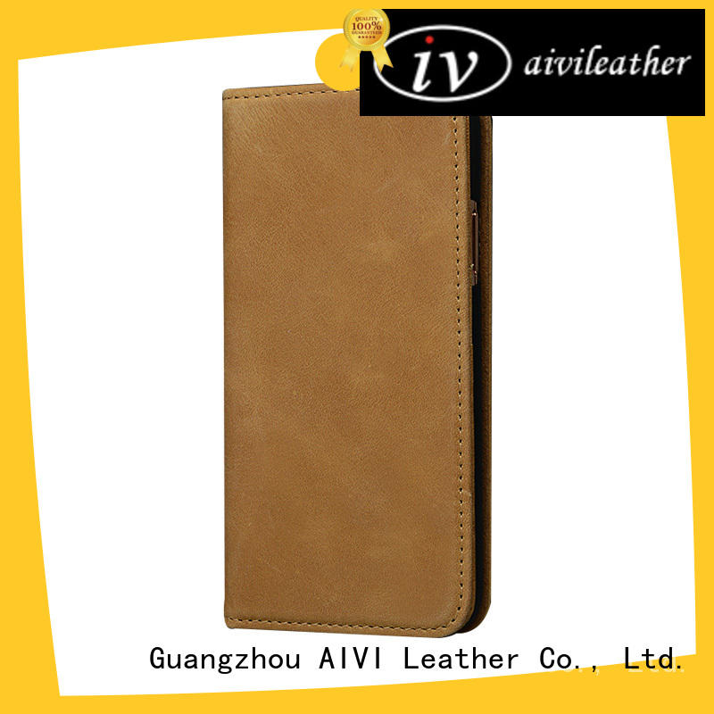 case apple original leather case protector for iphone XS AIVI