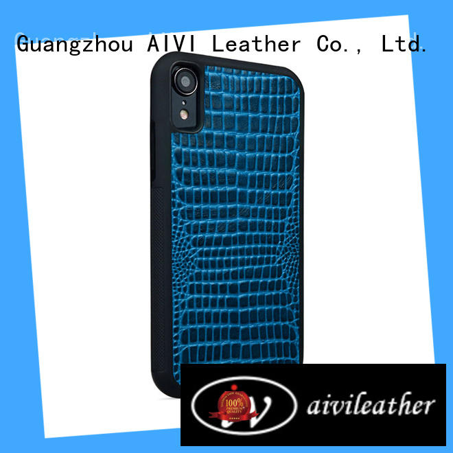 AIVI best best leather phone cases online for iphone XS