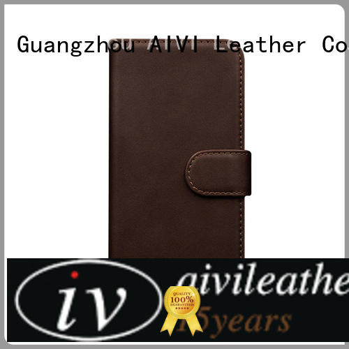 AIVI wallet genuine leather iphone 7 case for sale iphone XS