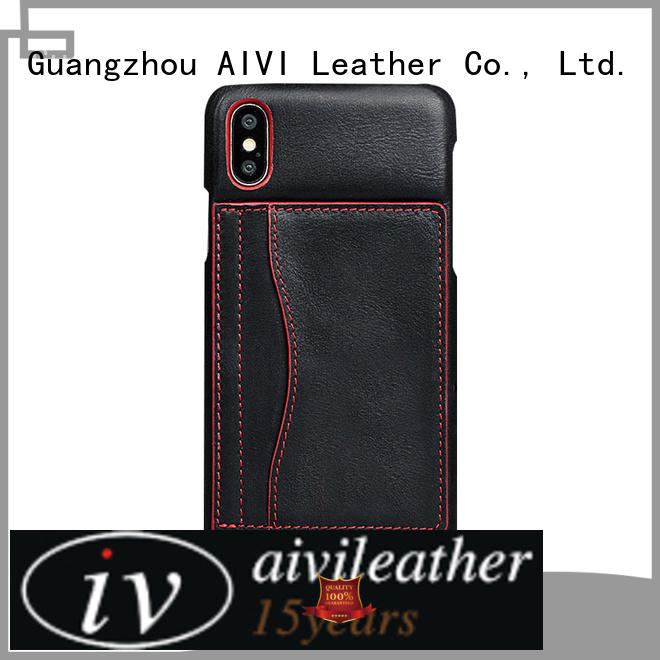 high quality quality leather phone cases manufacturer for iphone XR
