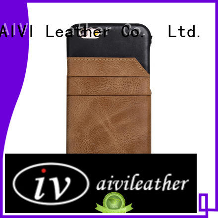 fashion iphone 6 plus leather wallet case design manufacturer for ipone 6/6plus