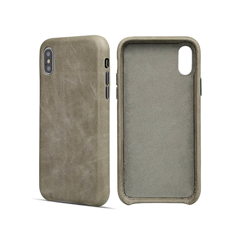 AIVI shell apple genuine leather case factory for iphone 7/7 plus-2