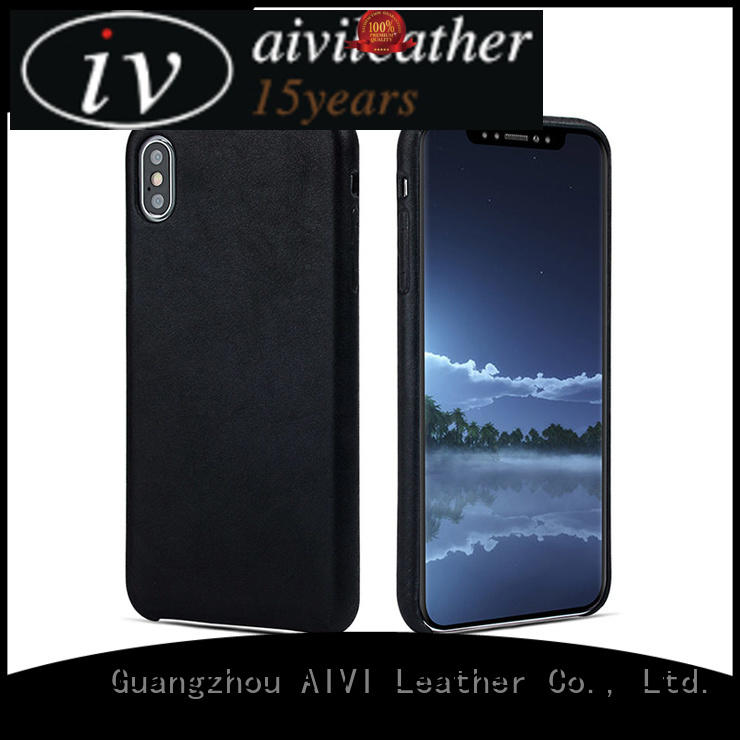 waterproof personalised leather phone case protector for iphone XS