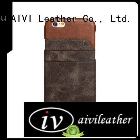 AIVI leather custom leather iphone 6 plus case for iPhone 6/6plus phone XS Max