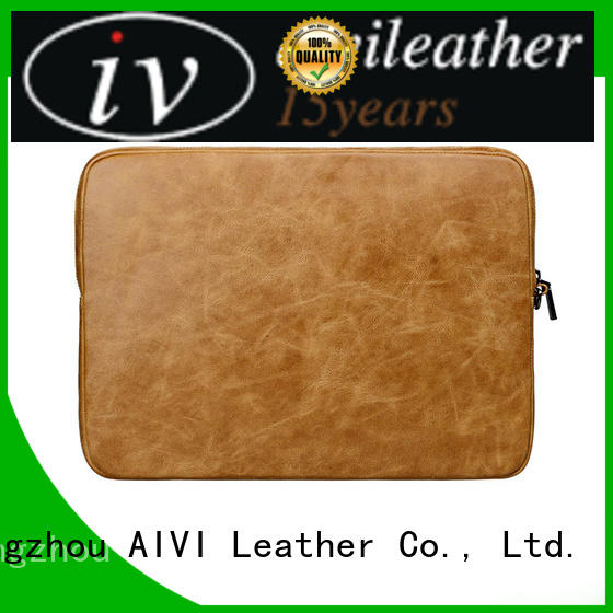 fashion leather notebook case for sale for computer