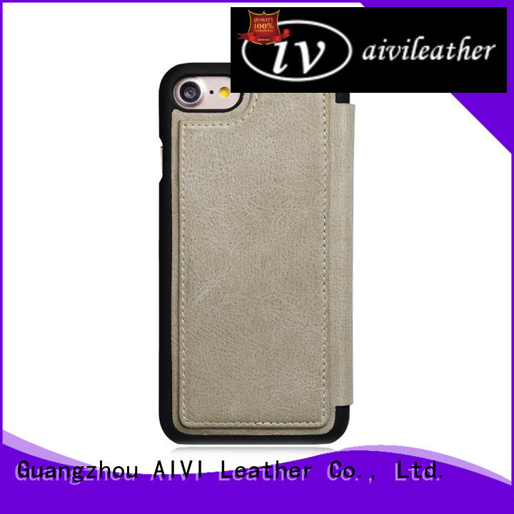AIVI reliable iphone 7 leather wallet iphone iphone 8 / 8plus