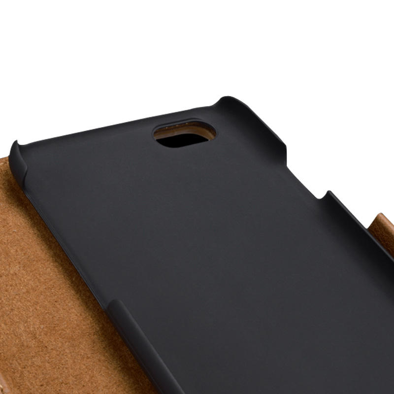 fashion brown leather iphone 6 case manufacturer for phone XS Max-3