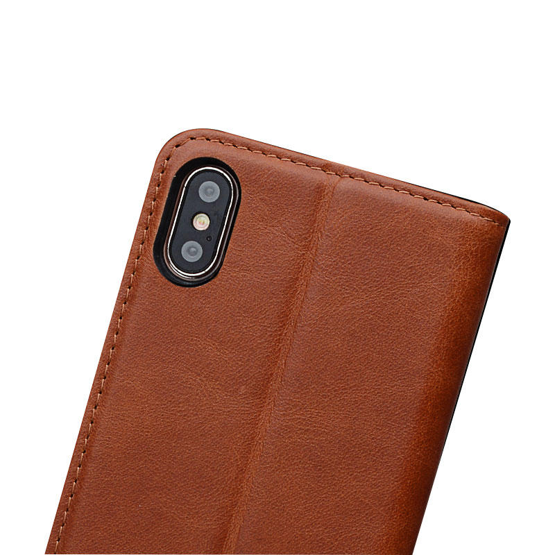AIVI fashion soft leather iphone case strap for iphone XS-1