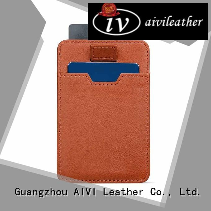 brand leather credit card case for sale iphone 7/7 plus