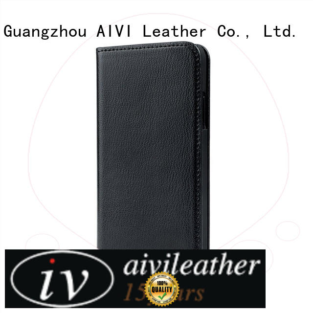 premium leather phone cases iphone for iphone XR AIVI