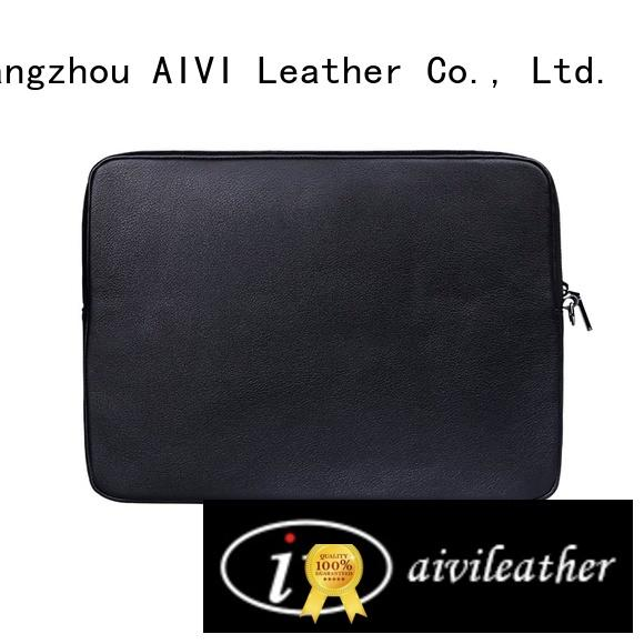AIVI comfortable leather computer carrying case arrival computer