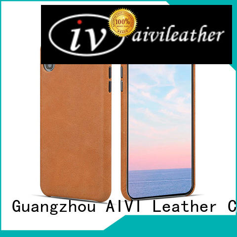 AIVI best apple iphone brown leather case leather for iphone X