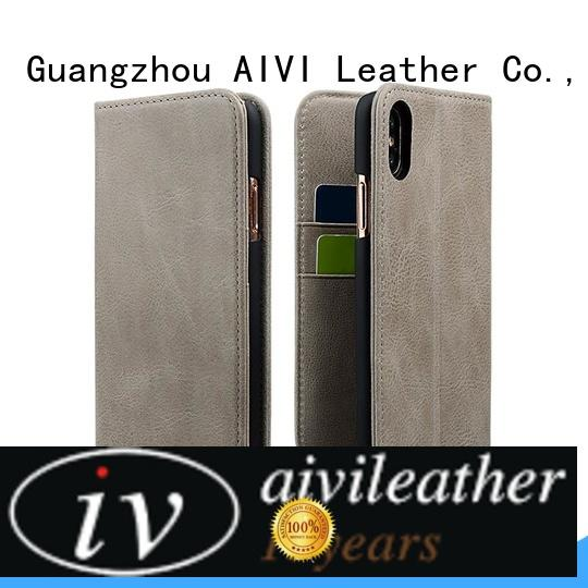 reliable leather wallet and phone case iphonexxs factory for iphone XR