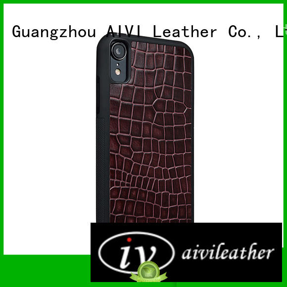 AIVI fashion personalized leather iphone case for sale for iphone XS Max