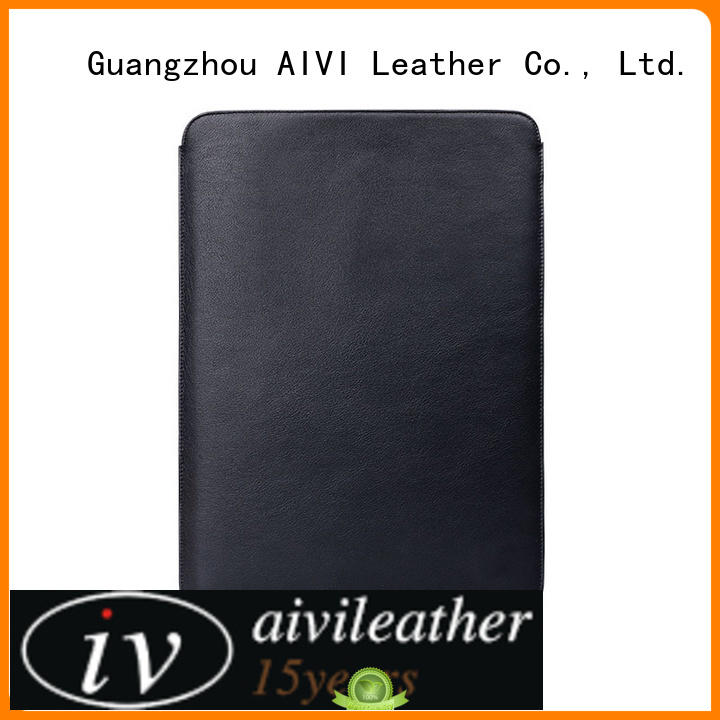 AIVI bag leather macbook case easy to carry for laptop