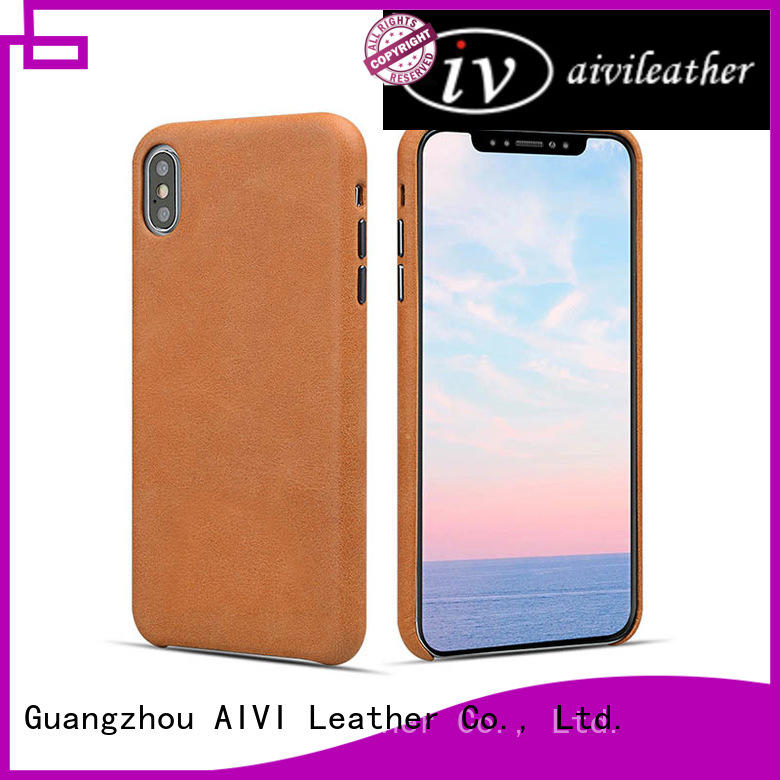 durable iphone xs leather case online iphone 8 / 8plus AIVI