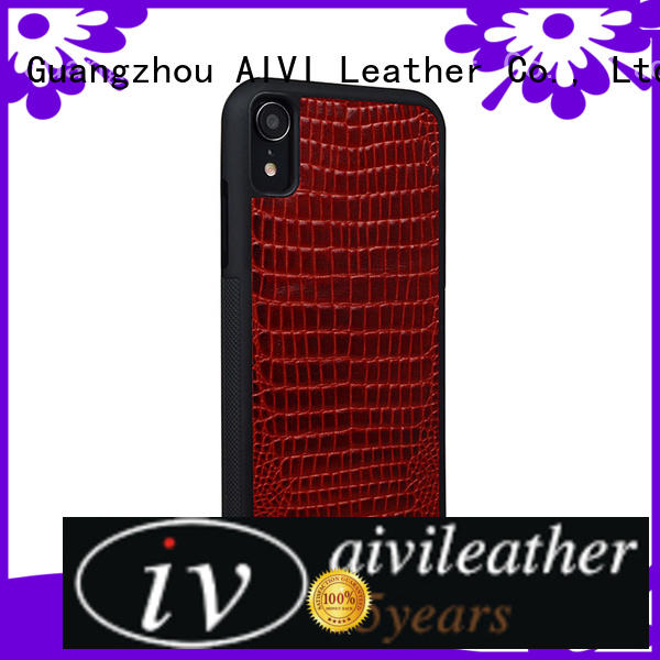 AIVI customized apple leather cover ipone 6/6plus