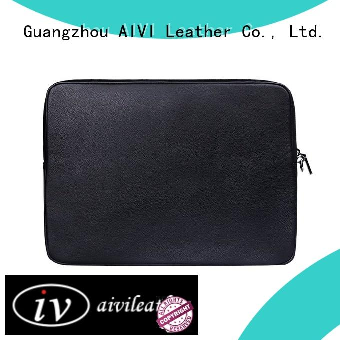Wholesale Leather Computer Case Practical shockproof Notebook Case For Mac-book Air 13/14/15 Inch