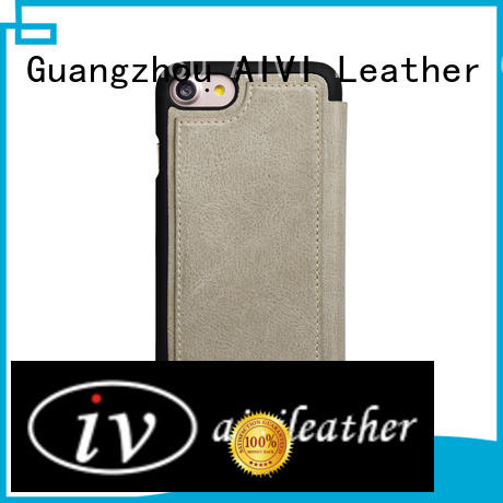 Hand Made Genuine Leather wallet phone Case Universal Handmade For apple 7 plus leather case