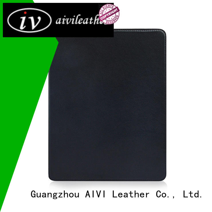 handcraft brown leather ipad case material online for computer
