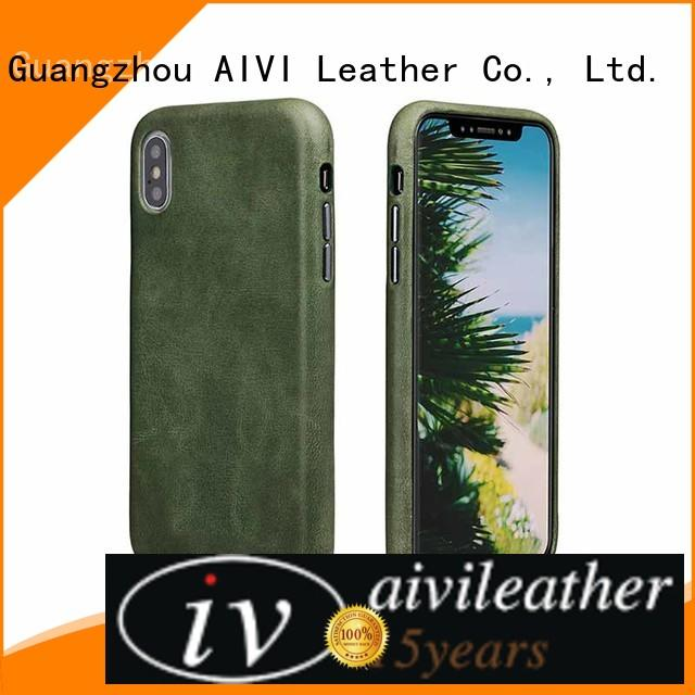 AIVI iphone leather for iphone XS