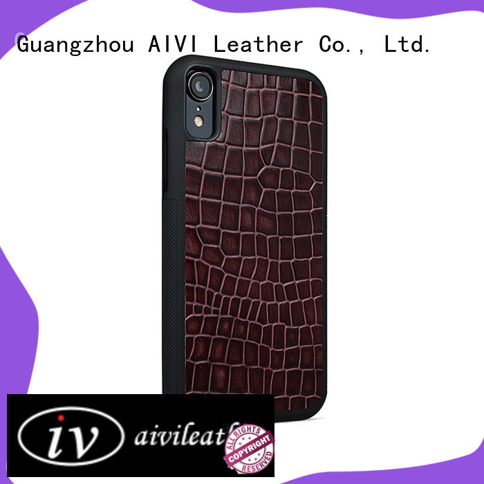 AIVI cover leather iphone card case protector for iphone X