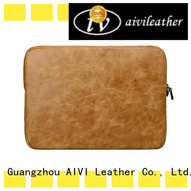 comfortable laptop leather case men for travel