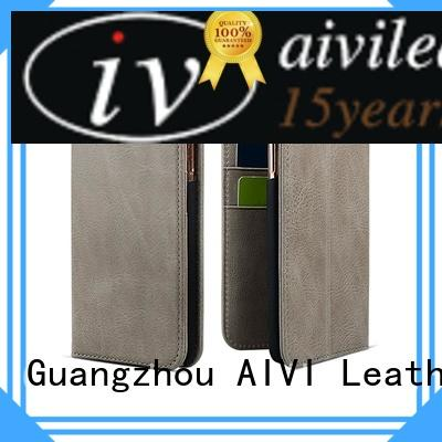 AIVI magnetic make your own leather phone case accessories iphone X