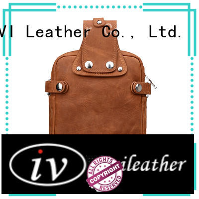 AIVI multi-function custom leather wallets easy to carry for business