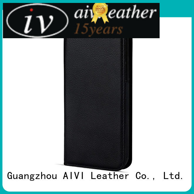 AIVI beautiful mens leather phone case online for iphone XR