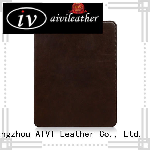 handcraft apple ipad leather case supply for MAC BOOK