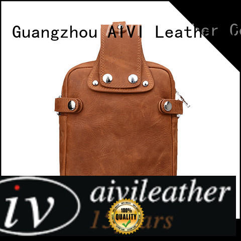 custom leather wallets multifunction for travel AIVI