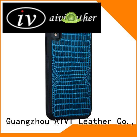 AIVI best iphone original leather case luxury for iphone XR