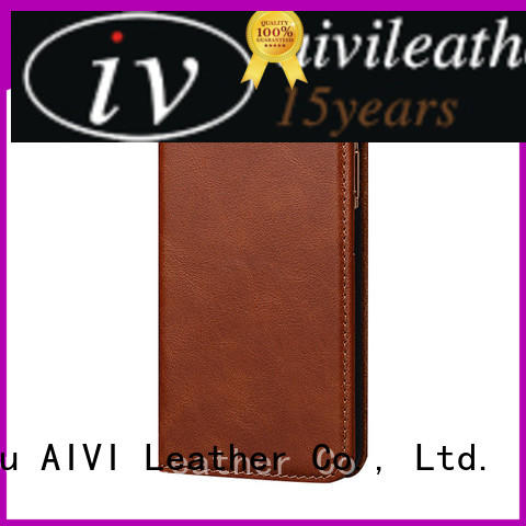 AIVI real quality leather iphone case protector for iphone 8 / 8plus