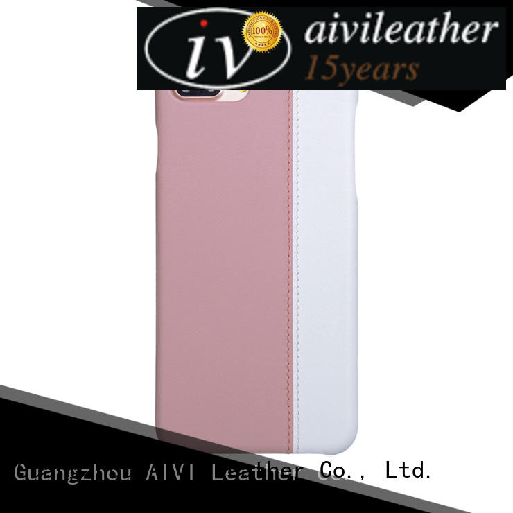 AIVI case iphone 7 leather case high quilty for phone XS Max