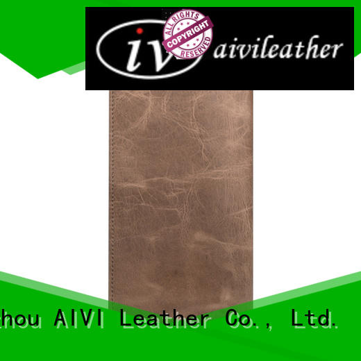 AIVI brown leather card case wallet online iphone X