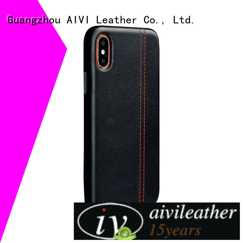 AIVI strap quality leather iphone case for sale for iphone XR