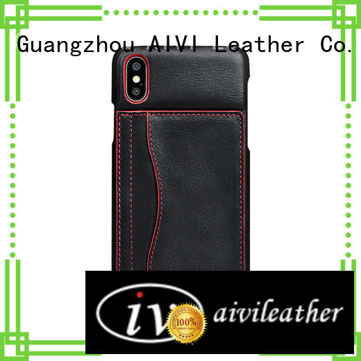 protective iphone leather case cover manufacturer iphone X AIVI