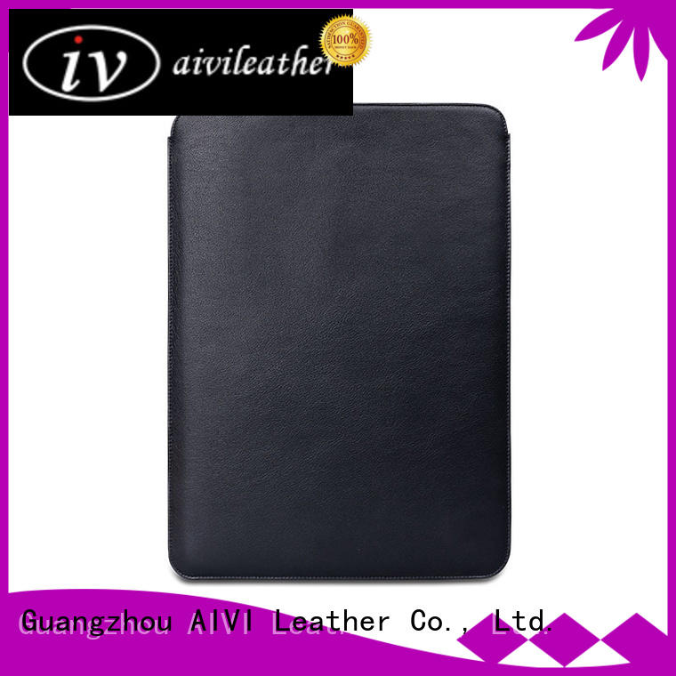 safe leather computer case mac easy to carry for travel